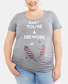 Baby You're A Firework ™ Plus Size Graphic Tee