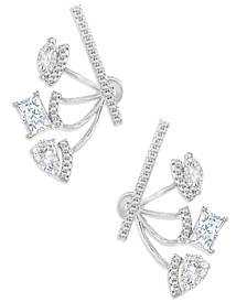 ZAXIE Adjustable Crystal Ear Jackets