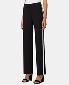 Tahari ASL Side-Striped Career Pants