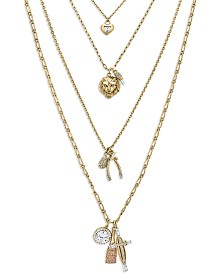 ZAXIE Charmed and Dangerous Layered Necklace