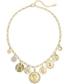 ZAXIE Gleam Queen Gold Coin Necklace