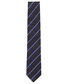 "BOSS Men's Tie 3"" Striped Jacquard Silk Tie"