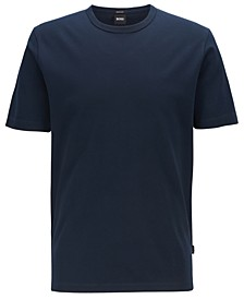 BOSS Men's Tiburt 137 Crew-Neck Cotton Piqué T-Shirt