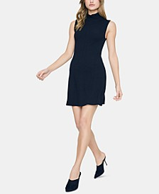 Essential Sleeveless Mock-Neck Dress