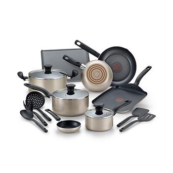 16-Piece T-Fal Culinaire Nonstick Aluminum Cookware Set