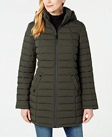 Nautica Hooded Packable Puffer Coat