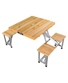 Leisure Season Portable Folding Picnic Table