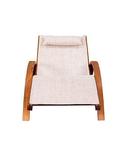 Leisure Season Sling Lounge Chair