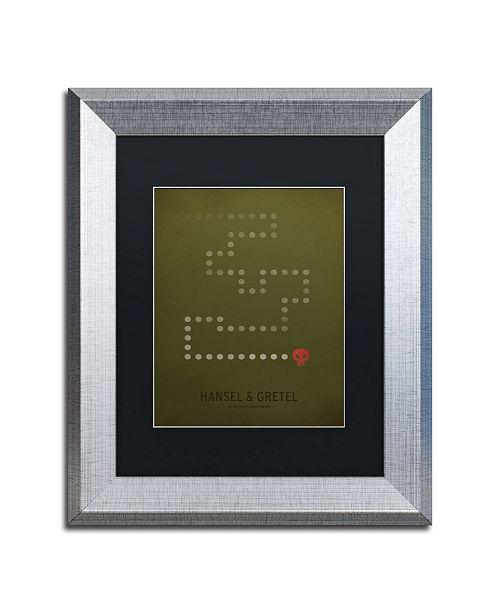 """Trademark Global Christian Jackson 'Hansel Gretel' Matted Framed Art - 11"""" x 14"""""""