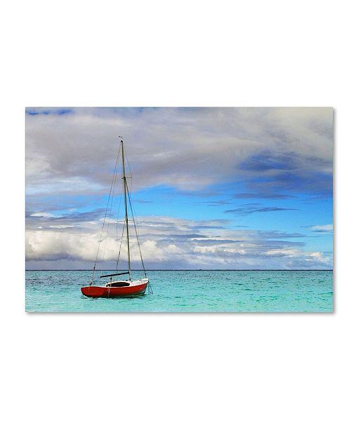 "Trademark Global Jason Shaffer 'Hawaii 3' Canvas Art - 32"" x 22"""