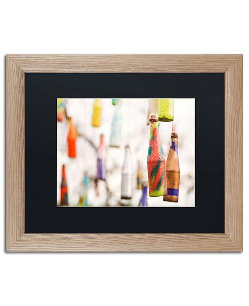 """Trademark Global Jason Shaffer 'High Life' Matted Framed Art - 20"""" x 16"""""""