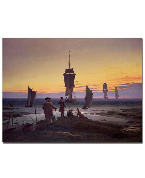 "Trademark Global Caspar Friedrich 'The Stages of Life, 1835' Canvas Art - 24"" x 18"""