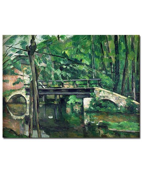 """Trademark Global Paul Cezanne 'View of the Marsailles Bay, 1878' Canvas Art - 32"""" x 26"""""""