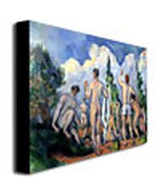 "Paul Cezanne 'The Bathers, 1890' Canvas Art - 47"" x 35"""