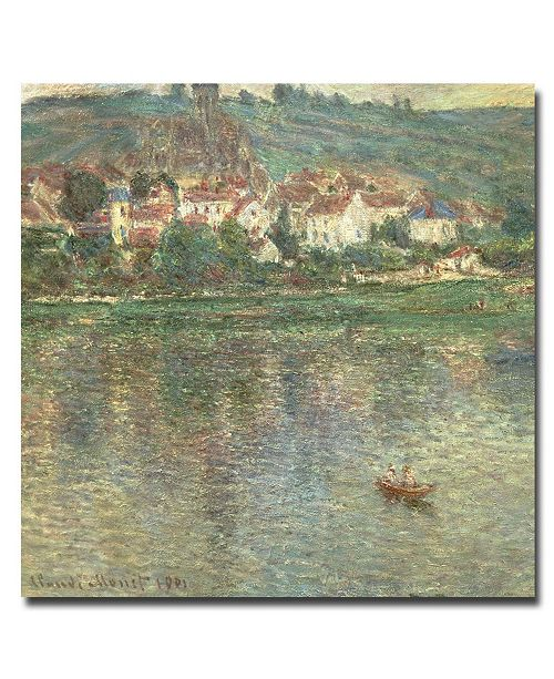 "Trademark Global Claude Monet 'Vetheuil 1901' Canvas Art - 35"" x 35"""