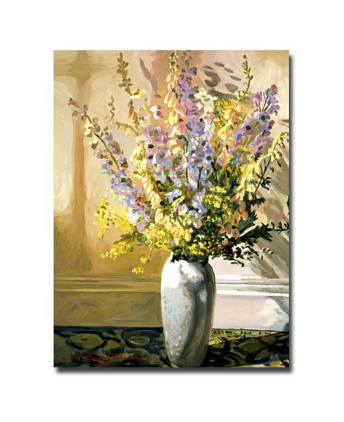 "Trademark Global David Lloyd Glover 'Bouquet Impressions' Canvas Art - 47"" x 35"""