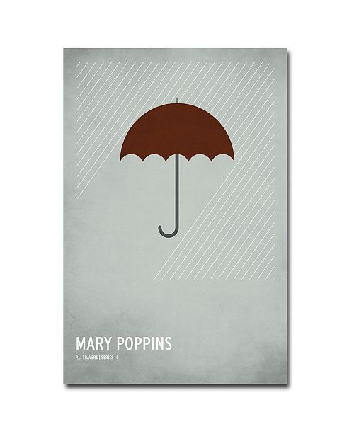 """Trademark Global Christian Jackson 'Mary Poppins' Canvas Art - 32"""" x 22"""""""