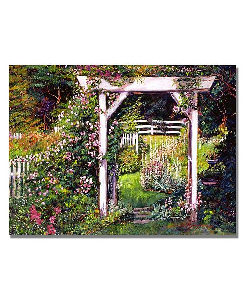 "Trademark Global David Lloyd Glover 'Botanical Paradise' Canvas Art - 32"" x 24"""