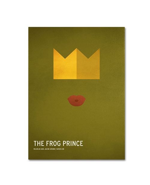 "Trademark Global Christian Jackson 'The Frog Prince' Canvas Art - 19"" x 14"""