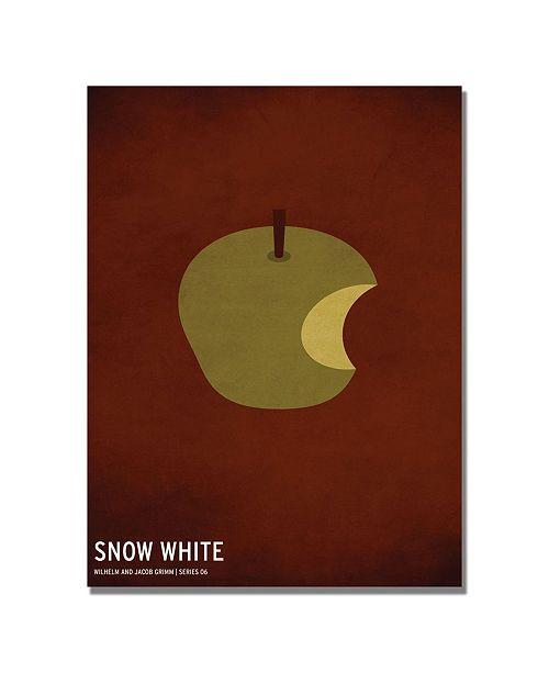 "Trademark Global Christian Jackson 'Snow White' Canvas Art - 24"" x 16"""