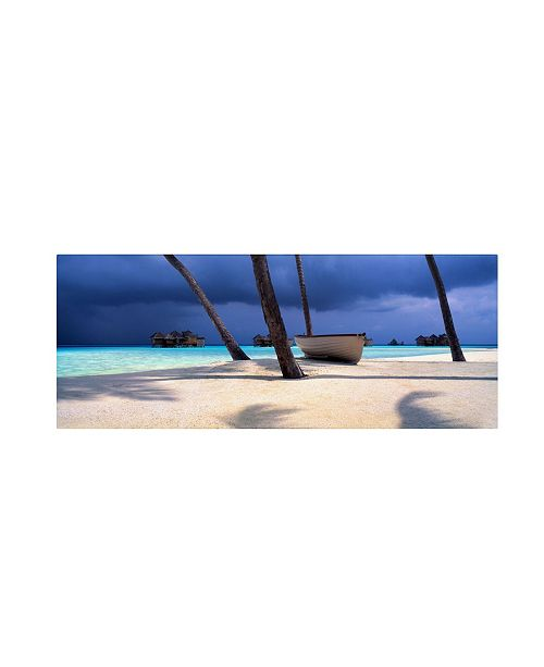 "Trademark Global David Evans 'Island Refuge' Canvas Art - 47"" x 16"""