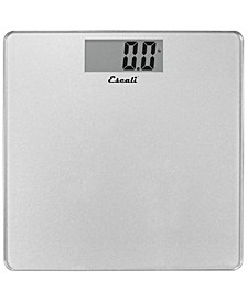 Corp Glass Platform Bathroom Scale, 440lb