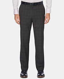 Men's Portfolio Modern-Fit Windowpane Plaid Dress Pants