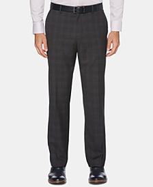 Men's Portfolio Modern-Fit Windowpane Plaid Dress Pants