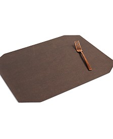 Textured Vinyl Bronze Placemat, Created for Macy's