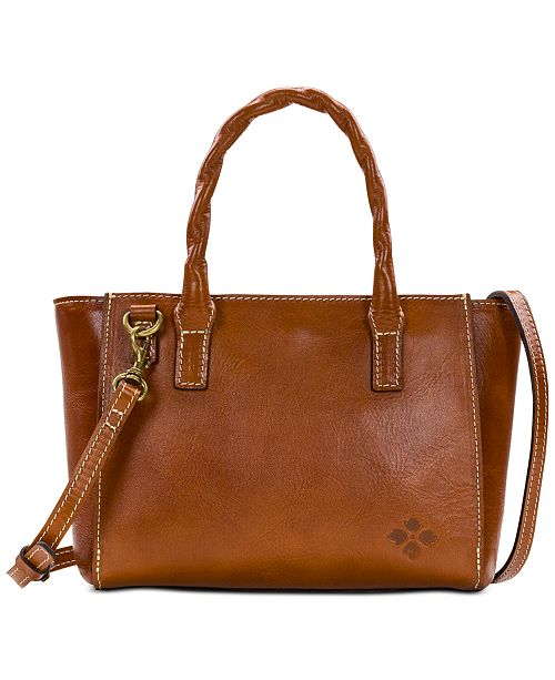 Patricia Nash Heritage Mozia Leather Tote