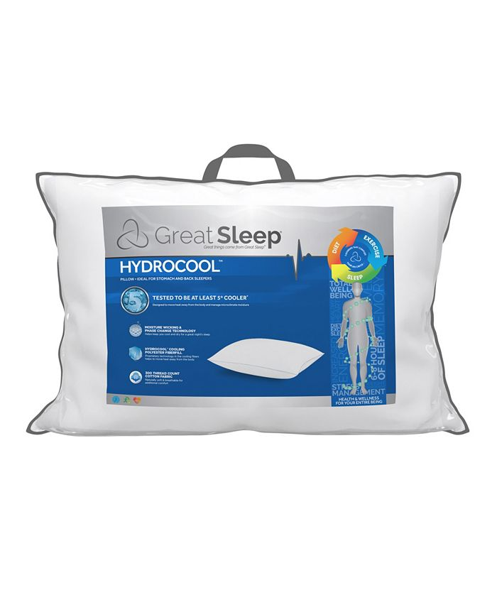 Great Sleep - 5 Degree Hydrocool Pillows