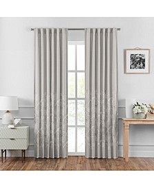 "Penelope 95"" Back Tab Curtain Panel Pair"