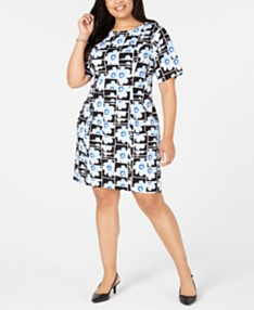 Daytime Plus Size Dresses - Macy\'s