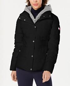 Tommy Hilfiger Hoodie Puffer Coat