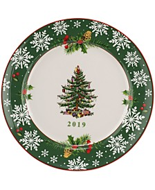 Christmas Tree 2019 Annual Collector's Plate