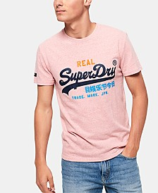 Superdry Men's Vintage-Inspired Logo T-Shirt