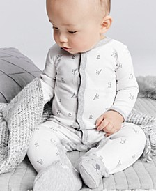 Baby Boys & Girls 1-Pc. Cotton Thermal Printed Pajama
