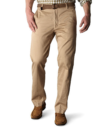 Dockers Signature Khaki Slim Fit Flat Front Pants, Limited ...