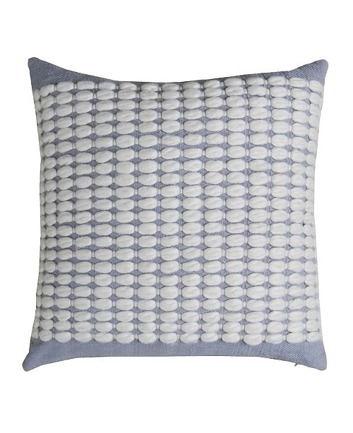 """Chicos Home Trenza Throw Pillow Cover 20"""" x 20"""""""
