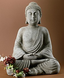 "KINDWER 20"" Tall Serene Meditating Buddha Statue"