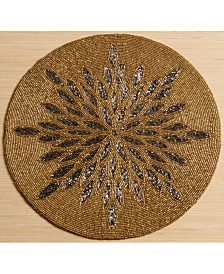 St. Croix KINDWER Glass Beaded Sunburst Placemat