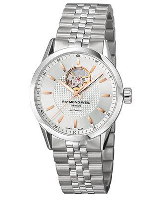 RAYMOND WEIL Watch, Men's Swiss Automatic Freelancer