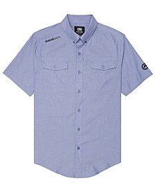 Men's Branded Chambray Woven Shirt