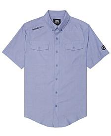 Men's Branded Chambray Woven Shirt