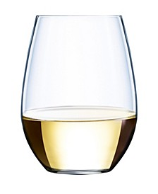 Domaine Stemless White Wine Glass - Set of 6