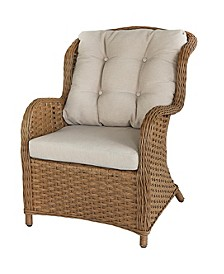 Bay Breeze Indoor/Outdoor Rattan Chair