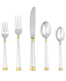 Lenox Eternal Gold 20-Pc. Flatware Set