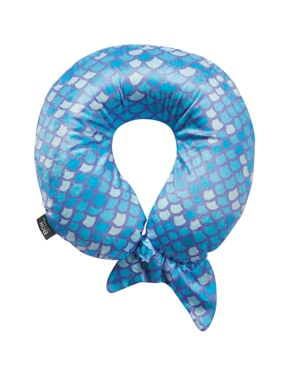 Bon Voyage Mermaid Tail Memory Foam Travel Neck Pillow