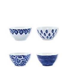 Vietri Santorini Assorted Cereal Bowls - Set of 4