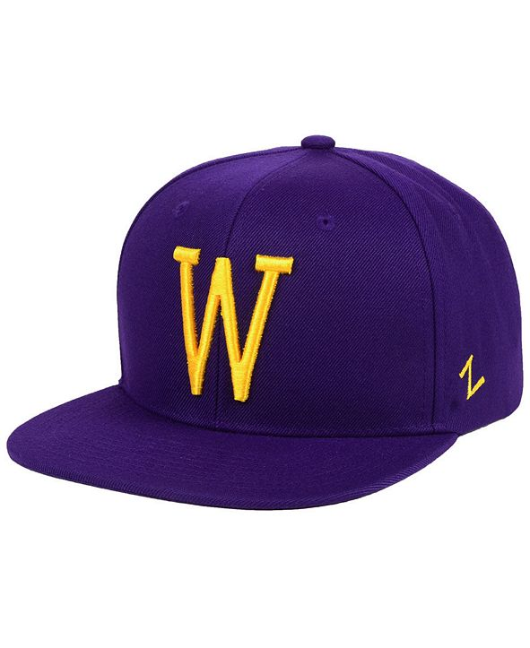 Zephyr Washington Huskies Skinny Snapback Cap